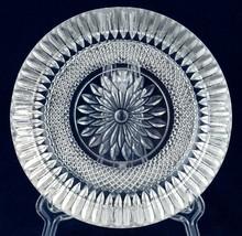 "Action Industries Diamond Crystal 6"" Ashtray Glass Italy Vintage - $10.00"
