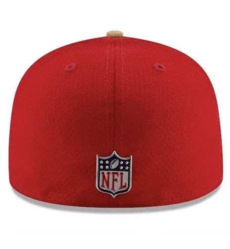 SAN FRANCISCO 49ERS NFL NEW ERA 59FIFTY OFFICIAL SIDELINE FITTED HAT CAP $40