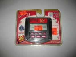 Bicycle Black Jack ~ Electronic Hand Held Card Game ~ 1995 Tiger NEW 75-035 - $12.61
