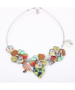 Parrot New 2016 fish flower Spring style leaf necklace fashion necklace ... - $15.09
