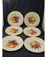 "6 Simpsons Marlborough Old English Ironston 8"" Salad or Dessert Plates - $29.95"