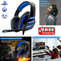 Gaming Headset For PS4 Xbox Multi-Platform Compatibility Surrounding Stereo Bass - $33.56