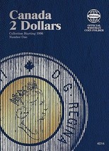 Canada Two Dollars, Starting 1996, No. 1, Whitman Coin Folder - $5.98