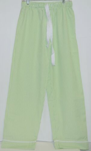 Ellie O Adult Seersucker Lounge Pants Size Medium Color Lime