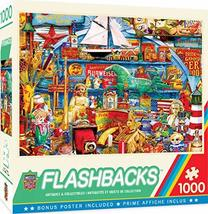 MasterPieces 1000 Piece Jigsaw Puzzle for Adult, Family, Or Kids - Antiques & Co - $10.71