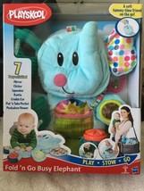 Playskool Fold 'n Go Busy Elephant NIB 7 Activities Play Stow Go Baby Toys - $23.27