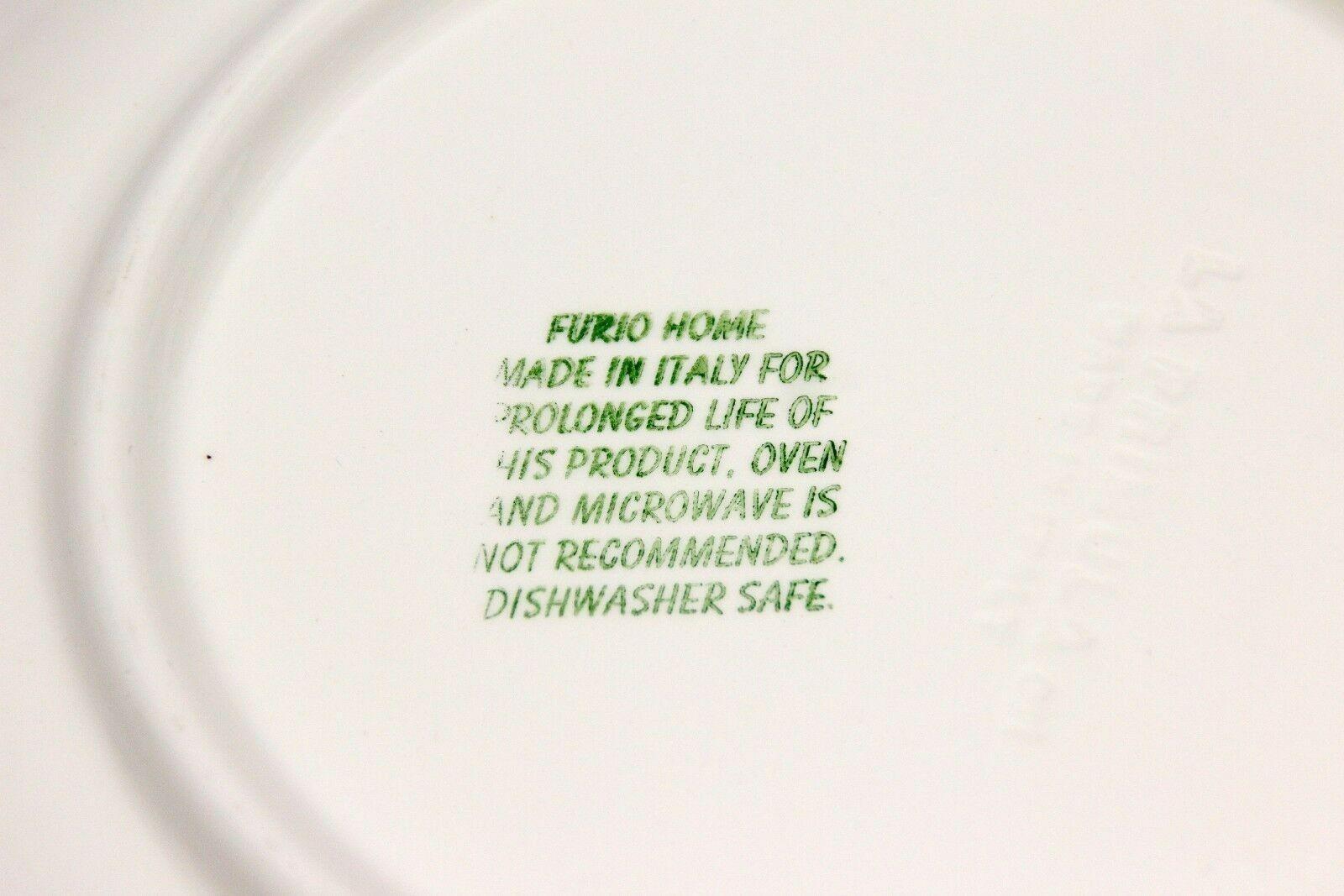 """Furio Xmas Tree Dinner Plates Sponge 10.25"""" Set of 12 image 6"""