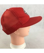 St. Louis Cardinals Red Logo Baseball Hat Cap Snapback Mesh MLB Annco Vi... - $16.14