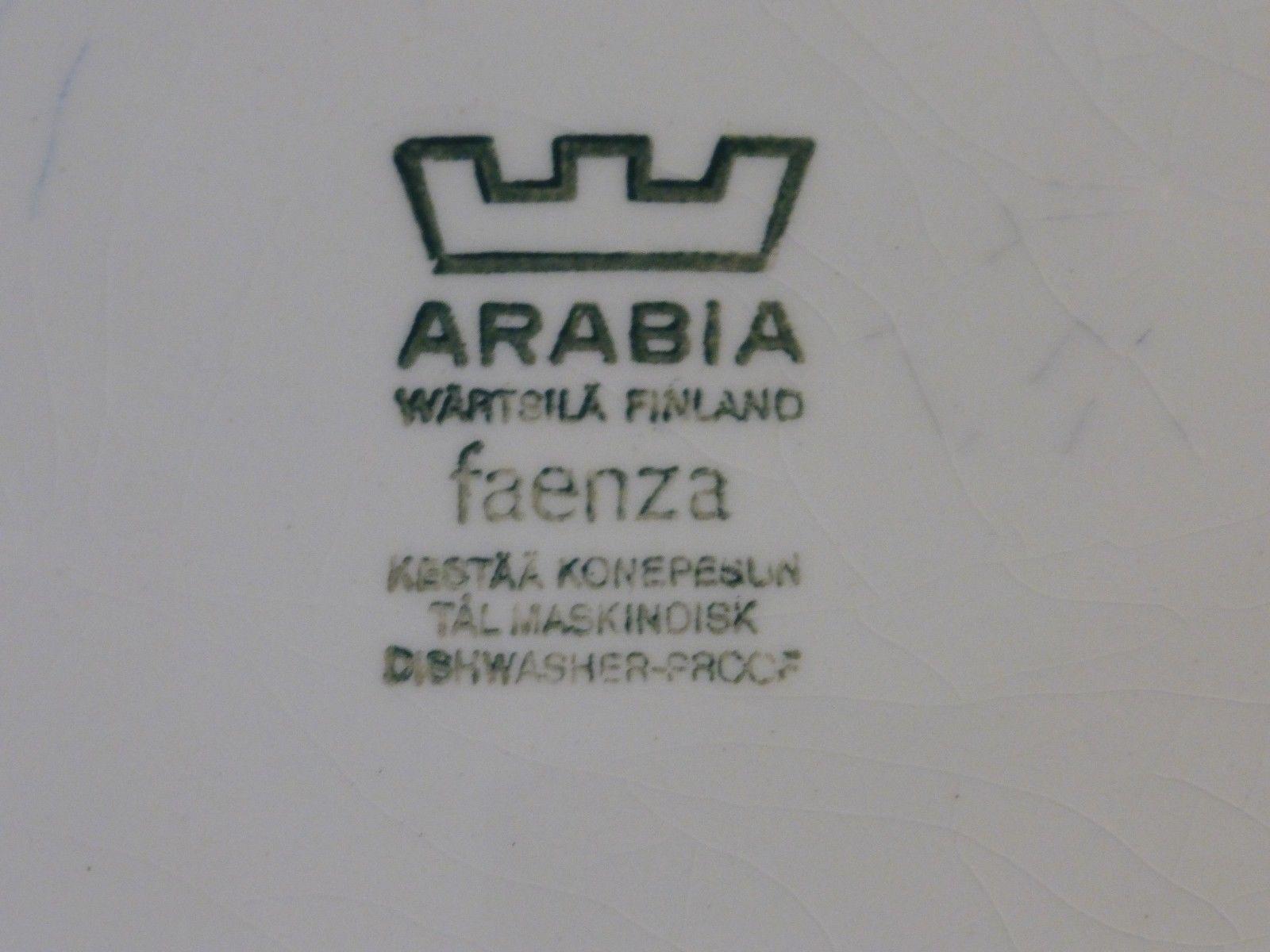 Vintage Arabia Wartsila Finland Faenza Bowl and 16 similar items