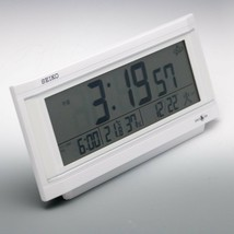 Seiko Space link GPS Clock GP501W Table Clock F/S - $128.76