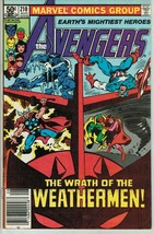 Avengers 210 FN Last Adventure of the Classic Bronze Age Line Up - $3.99