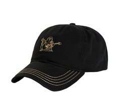 True Religion Men's Buddha Gold Logo Baseball Cap Sports Strapback Hat