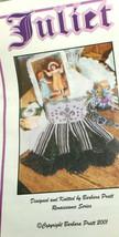 Barbara Pratt Juliet Beaded Purse Knitting Leaflet Pattern Only New - $10.75