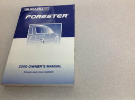 2000 Subaru Forester Operators Owner Owners Manual OEM Factory x 2000 - $44.50