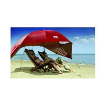 Beach Umbrella Tent Wind Shelter Sports Canopy Cabana Travel Sun Shade S... - $64.95