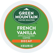 Green Mountain Coffee French Vanilla Decaf Keurig Single-Serve K-Cup Pod... - $20.03