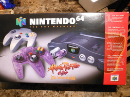 Nintendo 64 The Fun Machine Console Atomic Purple Controller Super Mario... - $599.00