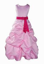 Per Bambina Da Festa Damigella Vestito Per Spettacolo 1-13 Y Rosa+Fascia image 6
