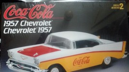 AMT/Ertl Coca-Cola 1957 Chevrolet model kit - $29.99