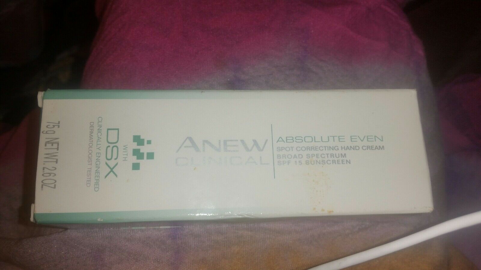 Avon Anew Clinical Absolute Even  Spot Correcting Hand Cream Broad Spectrum SPF