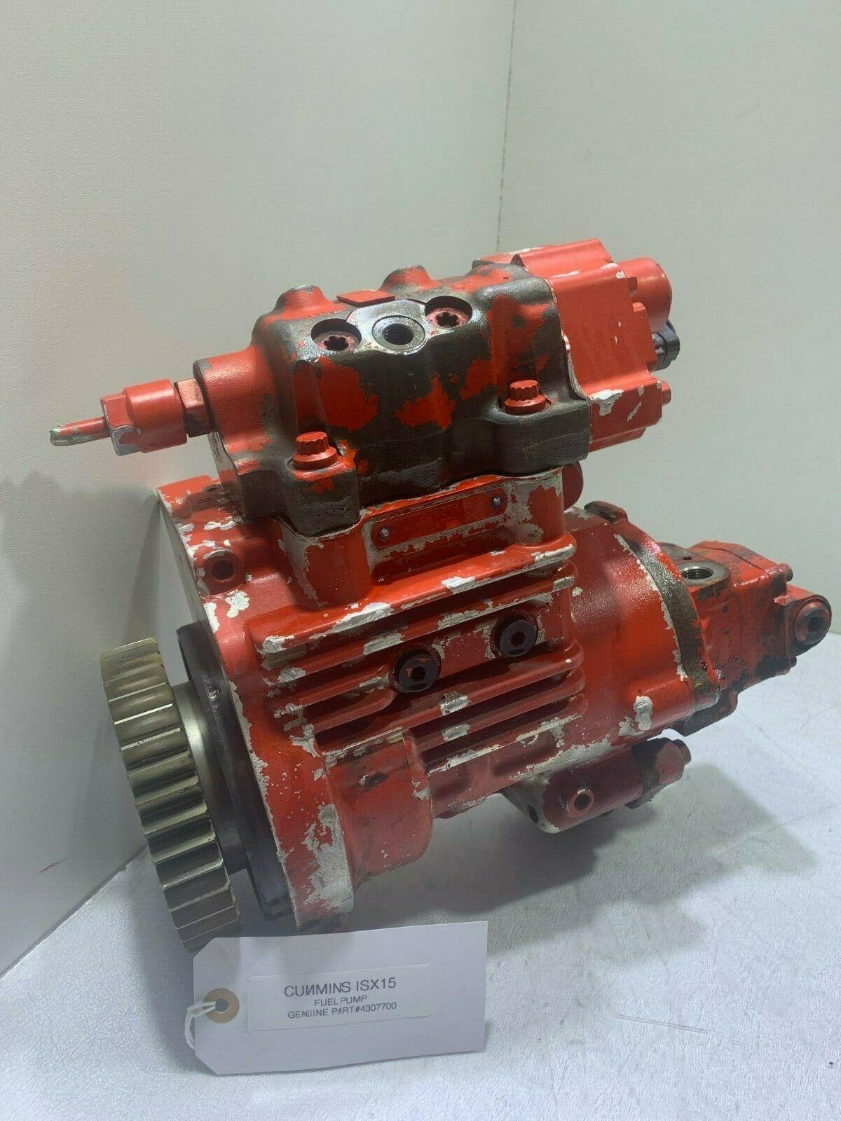Cummins ISX15 DIESEL ENGINE Fuel Pump 4307700 OEM
