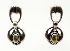 Georg Jensen 2006 Sterling Dangle Earrings (#3340) - $384.75