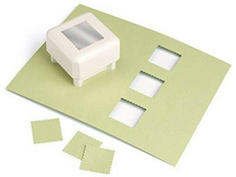 Martha Stewart Punch All Over the Page Scallop Square #42-90004