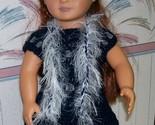 American Girl Boa, Crochet, Handmade, 18 Inch Doll