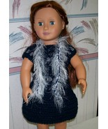 American Girl Boa, Crochet, Handmade, 18 Inch Doll - $8.00