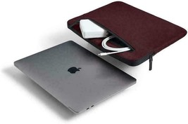 Incase Compact Nylon Sleeve for 15-Inch MacBook Pro Thunderbolt 3  - Mulberry image 2