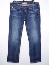 4e2bb89488d Big Star Jeans 31 Sweet Ultra Low Rise Short Jeans Ankle semi stretchy -  $31.50