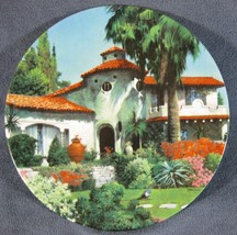 The Mission Collector Plate Home Sweet Home Robert McGinnis Architecture - $17.95