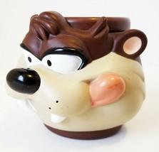 Tasmanian Devil Mug Plastic Coffee Cup Applause,Inc Rare Euc - $26.66
