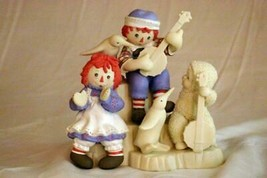 Dept 56 2002 Snowbabies Ragtime Raggedy Anne And Andy Figurine - $27.71