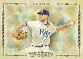 2009 Topps Allen and Ginter Baseball Highlights #AGHS21 David Price  - $0.50