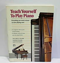 Teach Yourself To Play Piano Sheet Music Book Palmer Manus  - $16.44