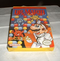 NES Nintendo Dr Mario Video Game in Box w/ Sleeve  Complete w/book  1990 - $39.59