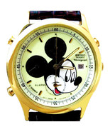 Seiko Mickey Chrono, Alarm, Men's Lumibrite Glow Rare Never Worn Watch Just $279 - $276.06