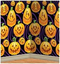 Beistle 00711 Jack-O-Lantern Backdrop, 4-Feet by 30-Feet - $15.72