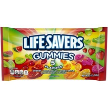 Life Savers 5 Flavors Gummies, Candy Bag 13oz. - Pack Of 4 - $23.36