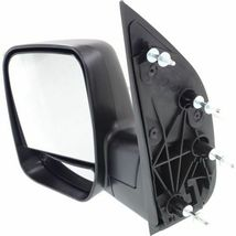 DRIVER SIDE NON HEATED MANUAL MIRROR FO1320253 FOR 03 04 FORD ECONOLINE VAN image 4