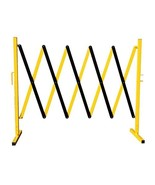 Folding Steel Expandable Barricade System - Safety Barrier Scissor Gate-... - $130.99