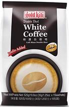 Gold Kili instant Double Shot White Coffee, 15 -Count - $21.77