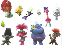 Roommates Trolls World Tour Wall Decal Set RMK4298SS