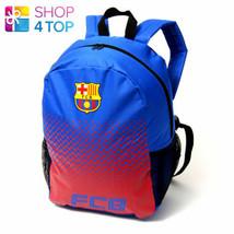 FC BARCELONA BACKPACK TRAVEL BAG BLUE FP FOOTBALL SOCCER CLUB TEAM OFFIC... - $16.14