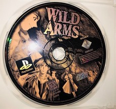 Wild Arms RPG Video Game Sony PlayStation One PS1 1997 Disc Only Plays O... - $49.50