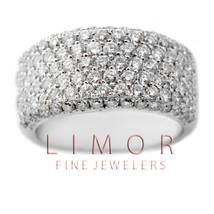 3.45CT Women's Unique VS Natural Diamond Wedding Band Anniversary Ring 1... - $3,315.51