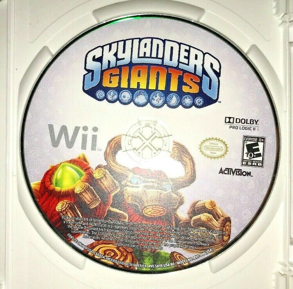 Skylanders GIANTS Nintendo Wii 2012 Game Complete W/ Disc and Portal Of Power image 6