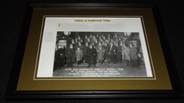 1924 Notre Dame Fighting Irish National Champions Framed 11x14 Photo Dis... - $25.82