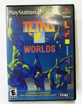 PLAYSTATION 2 Tetris Mondi ps2 Anno 2001 Gioco - $7.92
